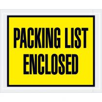 """Packing List Enclosed"" (Panel Face-Script) Envelopes"