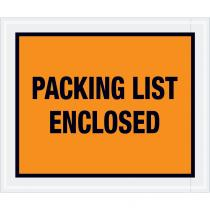 "Packing List Enclosed"" (Full Face) Envelopes"