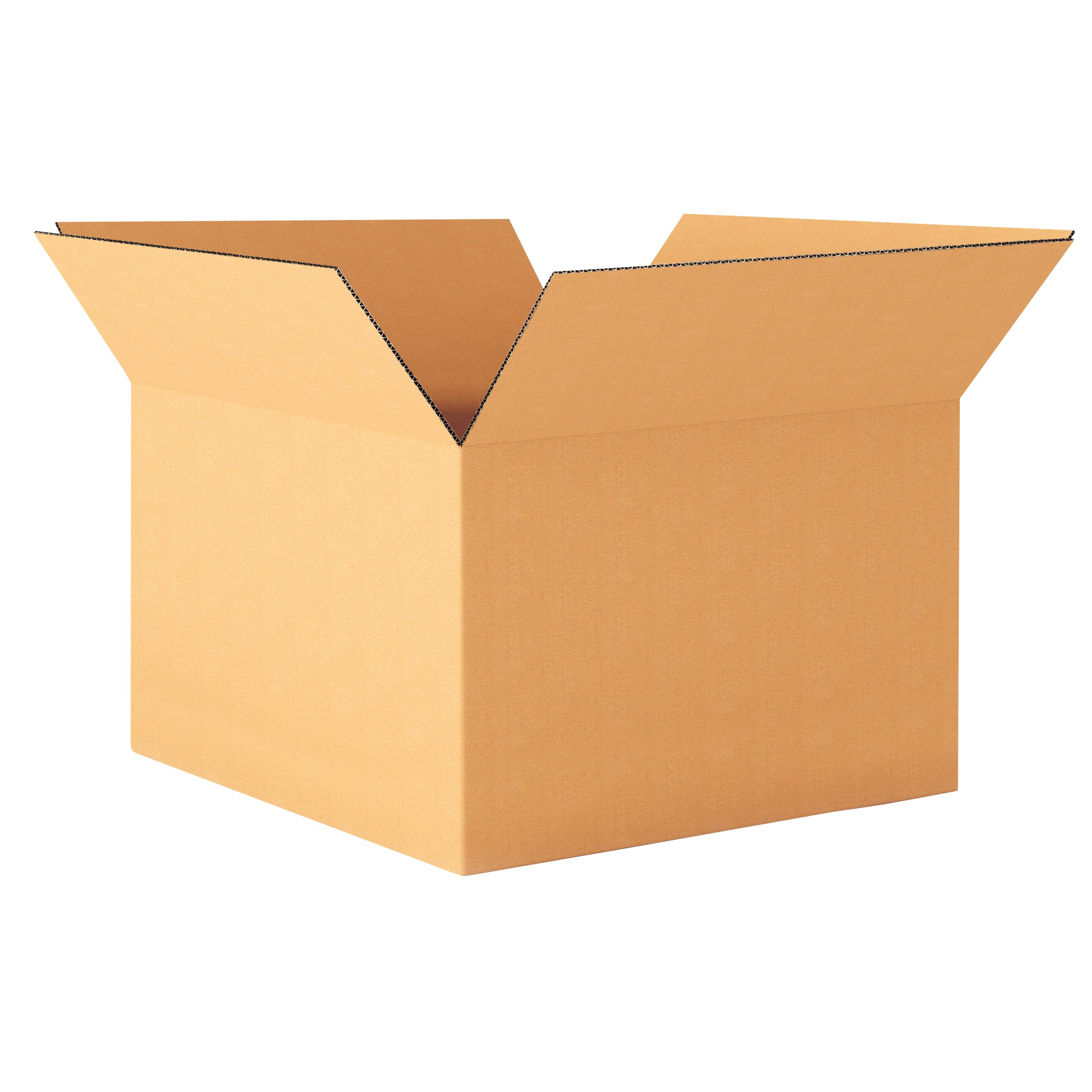 "TOTALPACK® 12 x 10 x 8"" Single Wall Corrugated Boxes 25 Units"