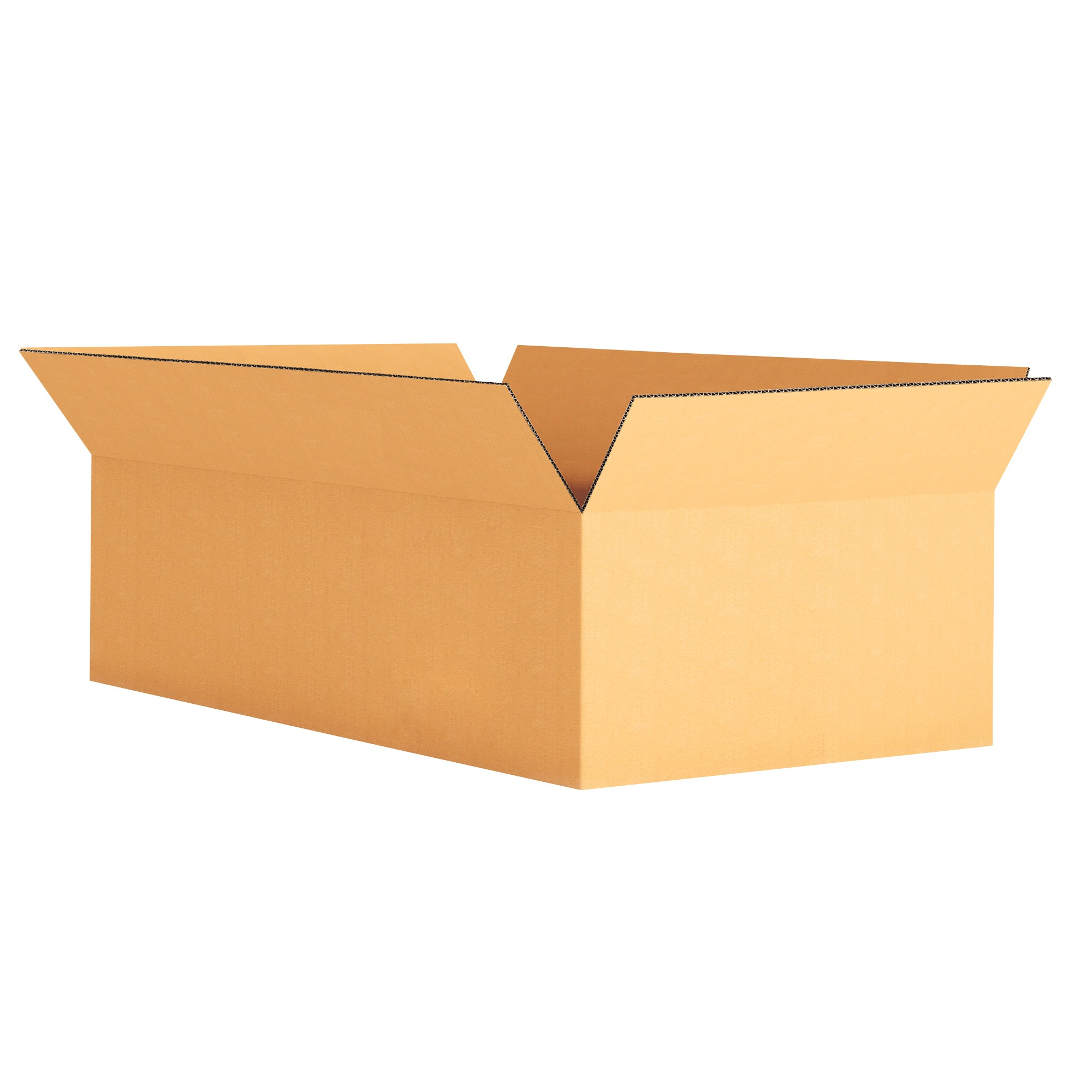 "TOTALPACK® 12 x 6 x 6"" Single Wall Corrugated Boxes 25 Units"