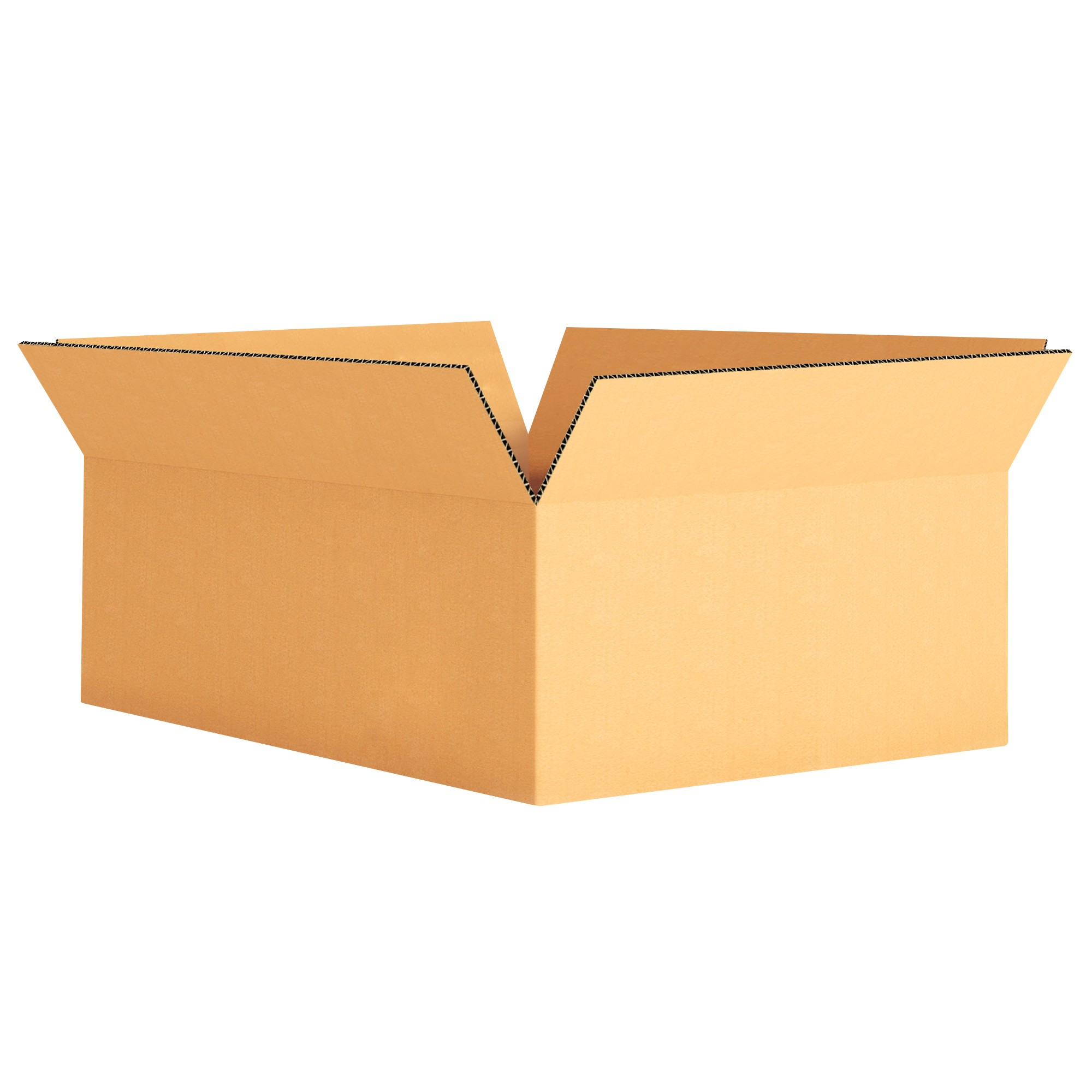 "TOTALPACK® 12 x 9 x 4"" Single Wall Corrugated Boxes 25 Units"