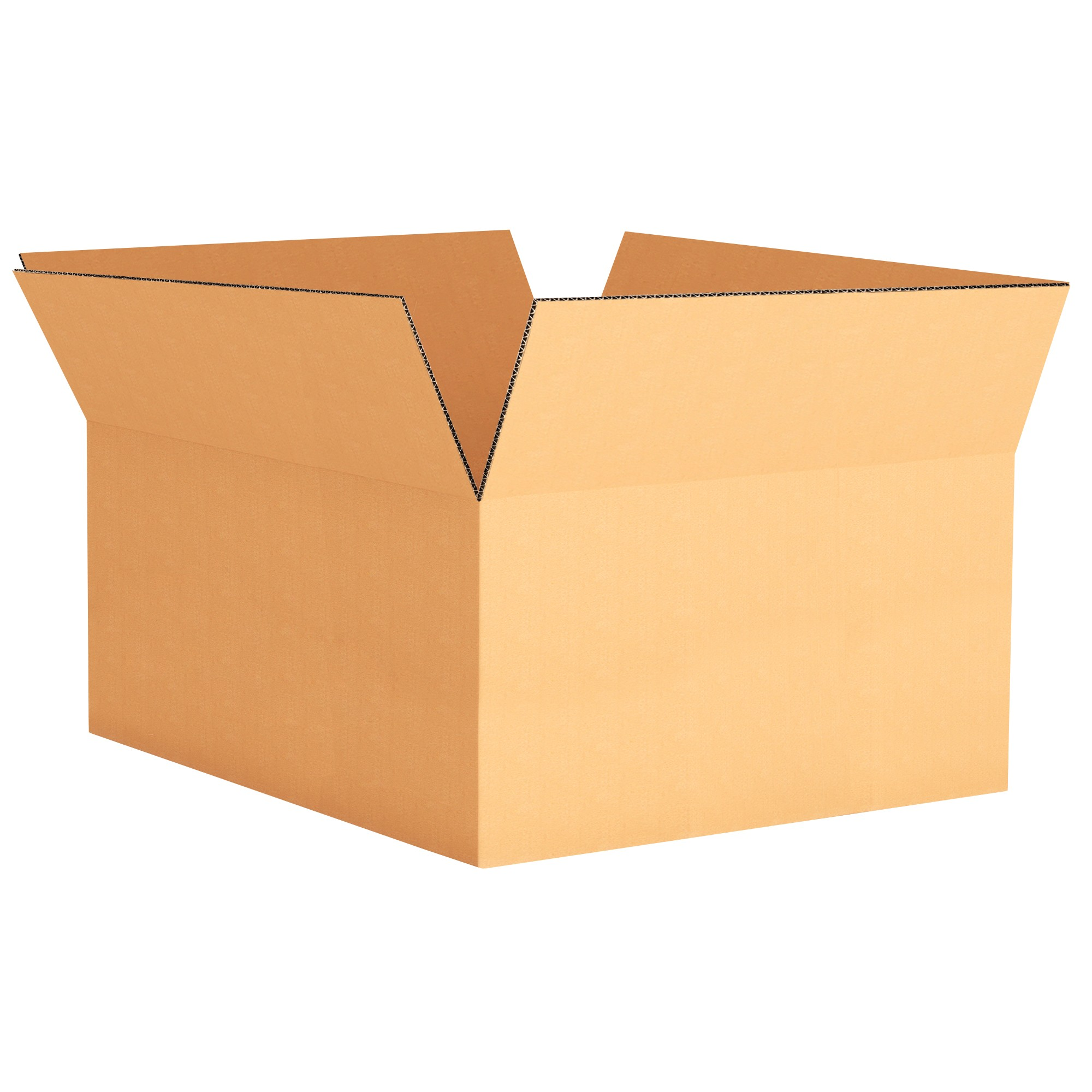 "TOTALPACK® 12 x 9 x 6"" Single Wall Corrugated Boxes 25 Units"