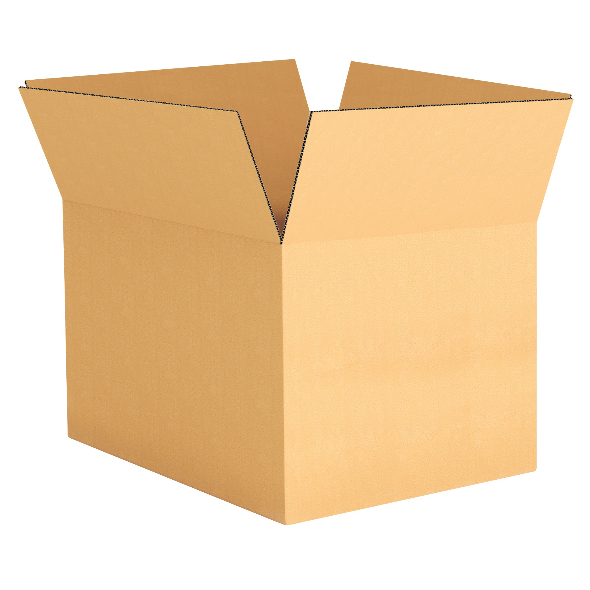 "TOTALPACK® 16 x 12 x 10"" Single Wall Corrugated Boxes 25 Units"