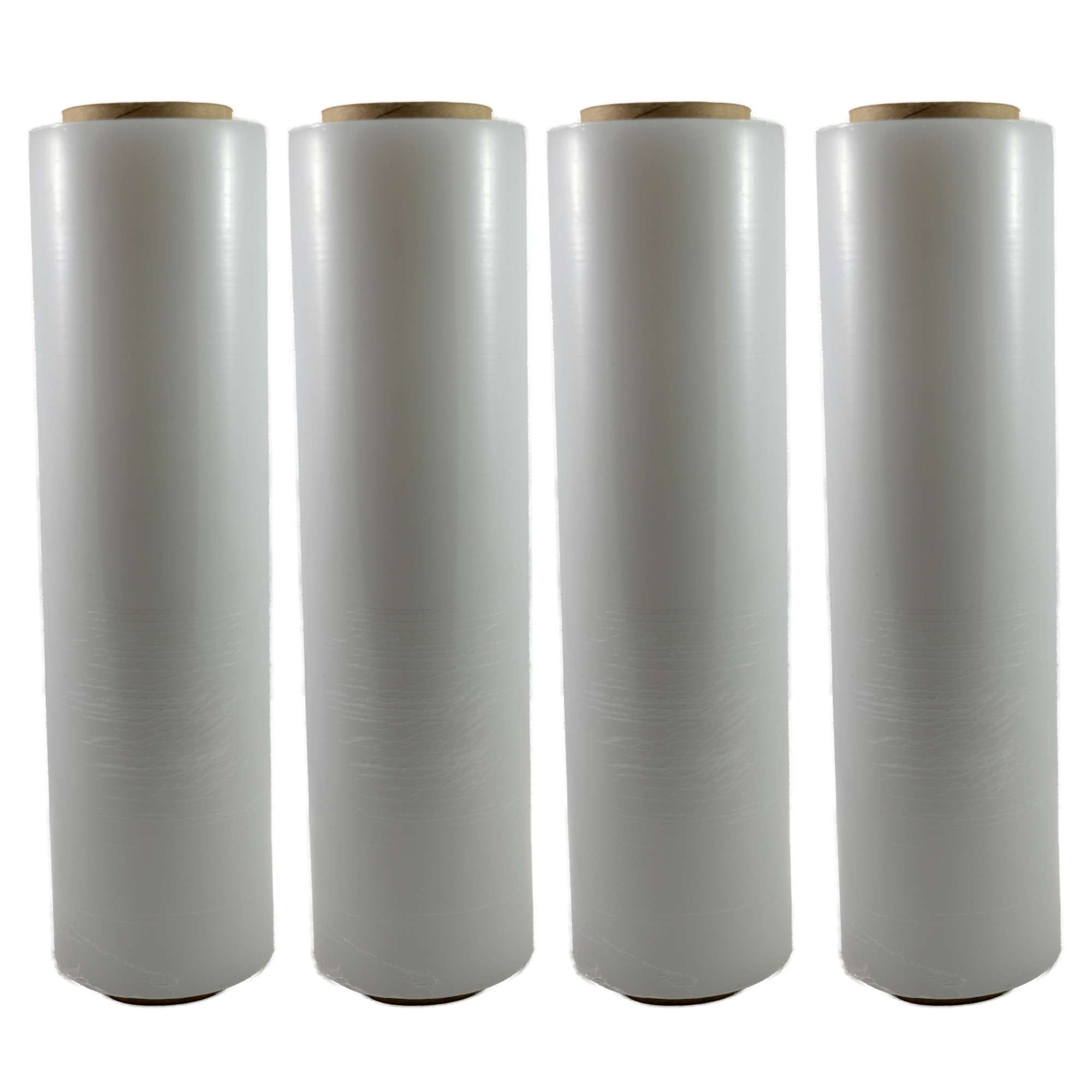 "TOTALPACK® 16"" x 1000' 65 Gauge, 4 Rolls. Gauge Blown Stretch Clear Film"