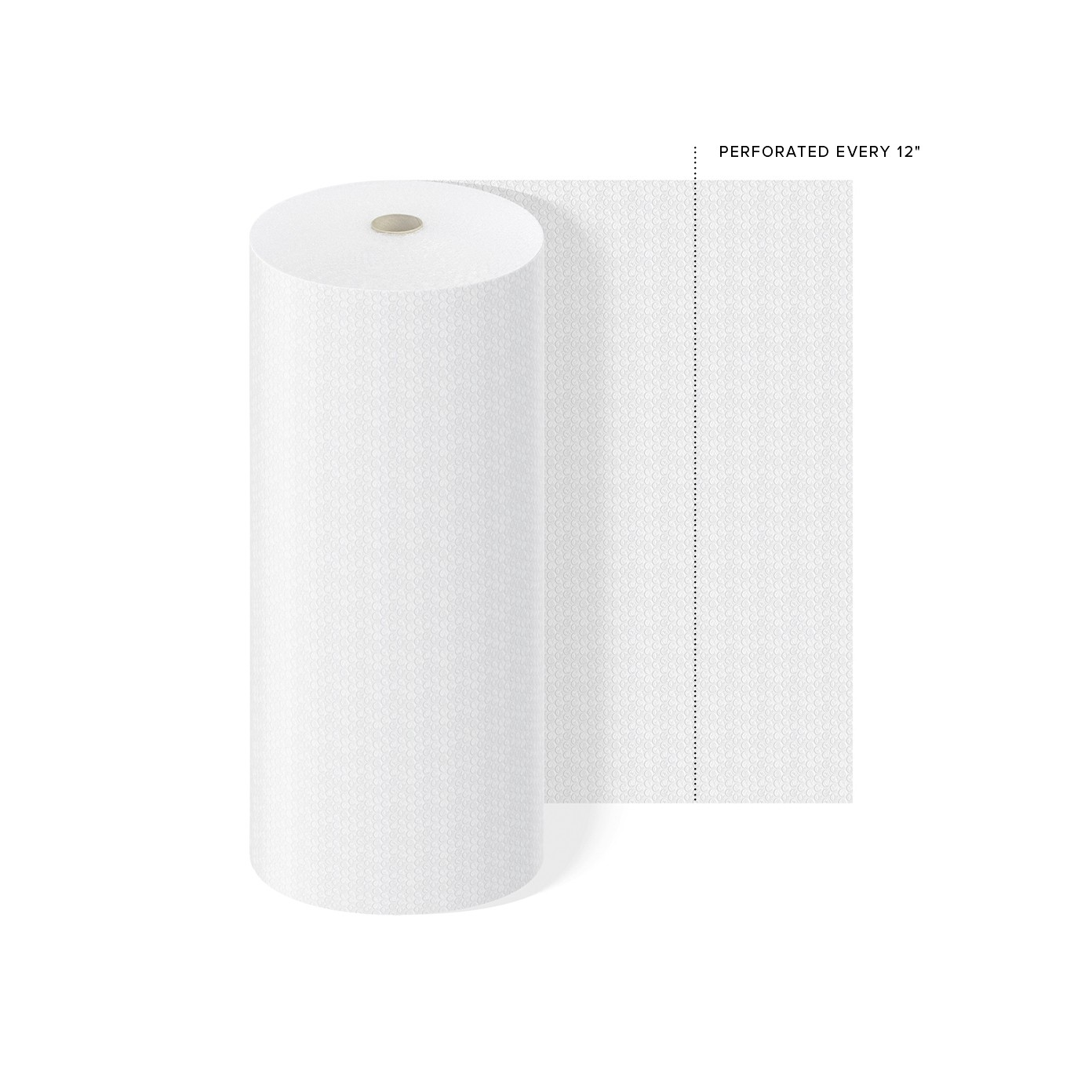 "TOTALPACK® 5/16"" x 48"" x 188' Perforated Every 12"", Air Bubble 1 Roll"
