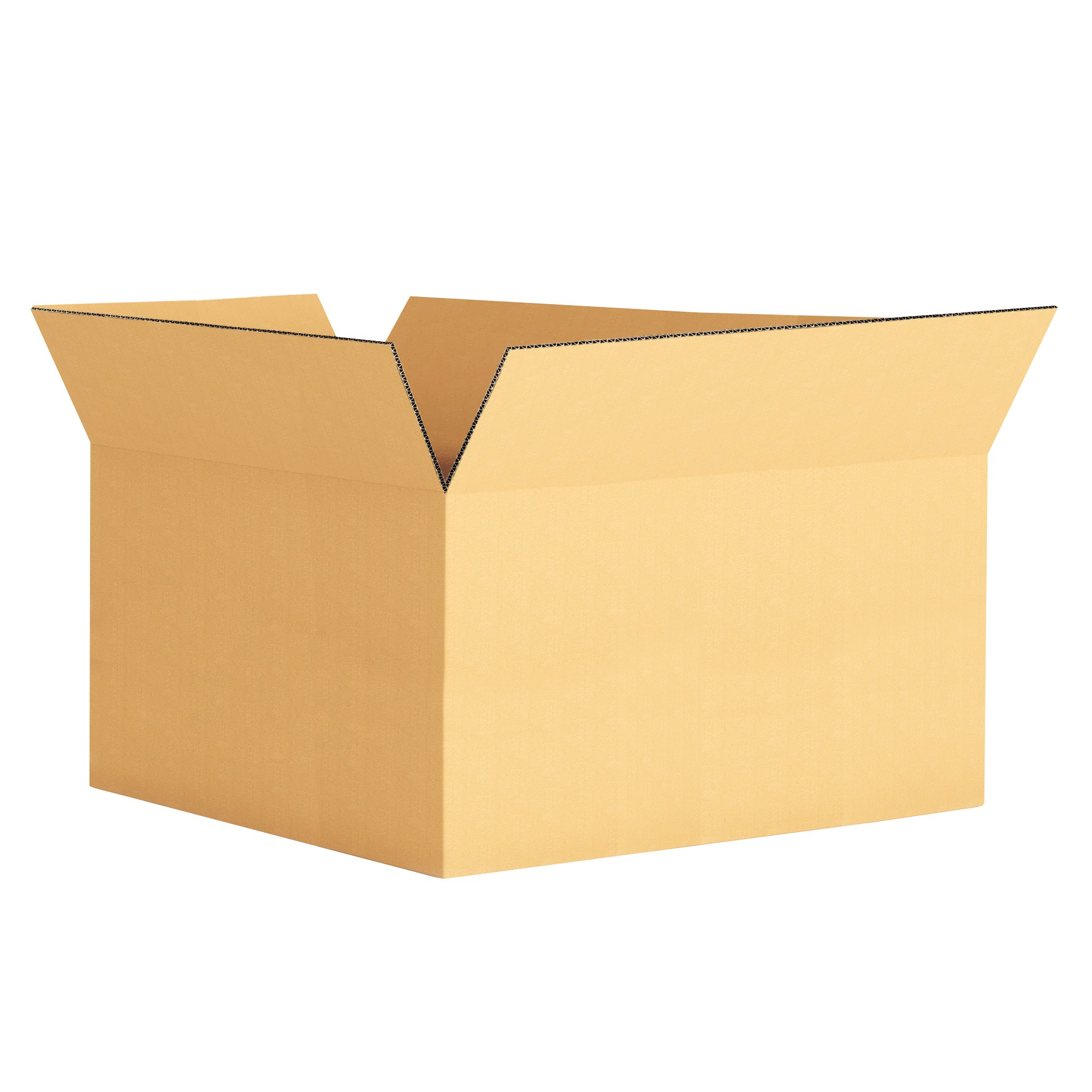 """TOTALPACK® 13 1/2 x 13 1/2 x 7 1/2"""" Single Wall Corrugated """"1-4 Gallons"""" Boxes 25 Units"""