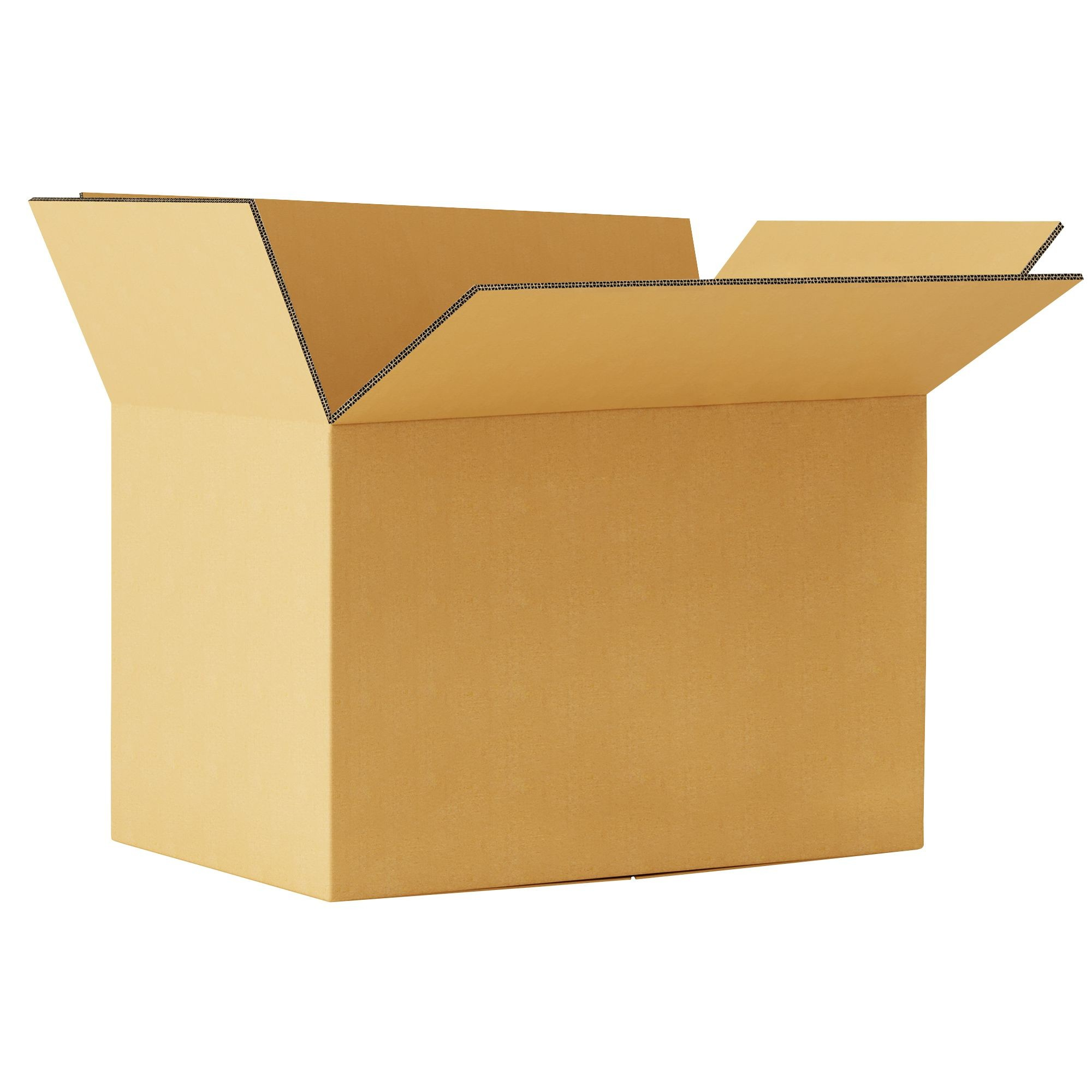 """TOTALPACK® 18 x 12 x 12"""" Double Wall Corrugated """"Printed Fragile This Side Up"""" Boxes 20 Units"""
