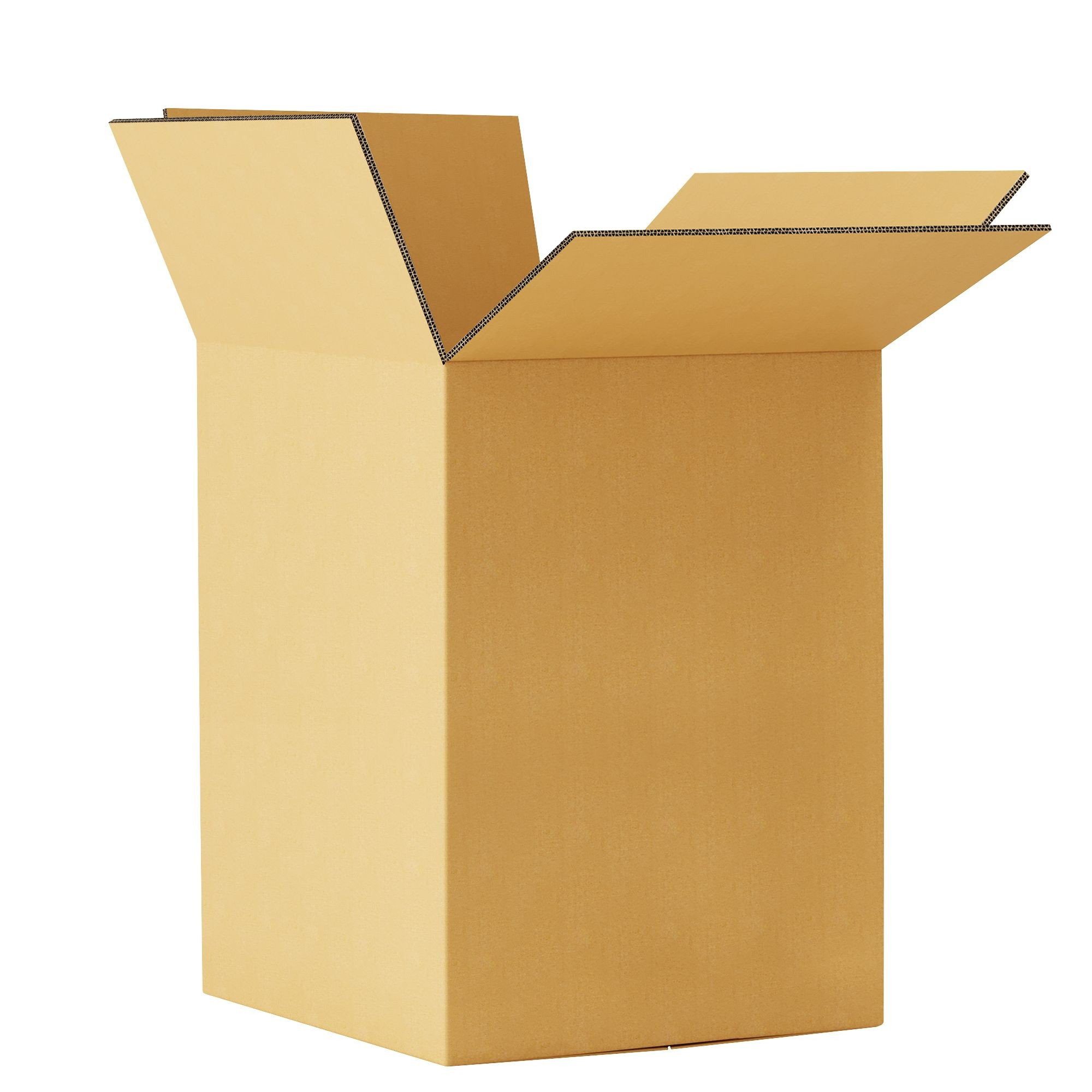 """TOTALPACK® 18 x 18 x 28"""" Double Wall Corrugated Dishpack Boxes 15 Units"""