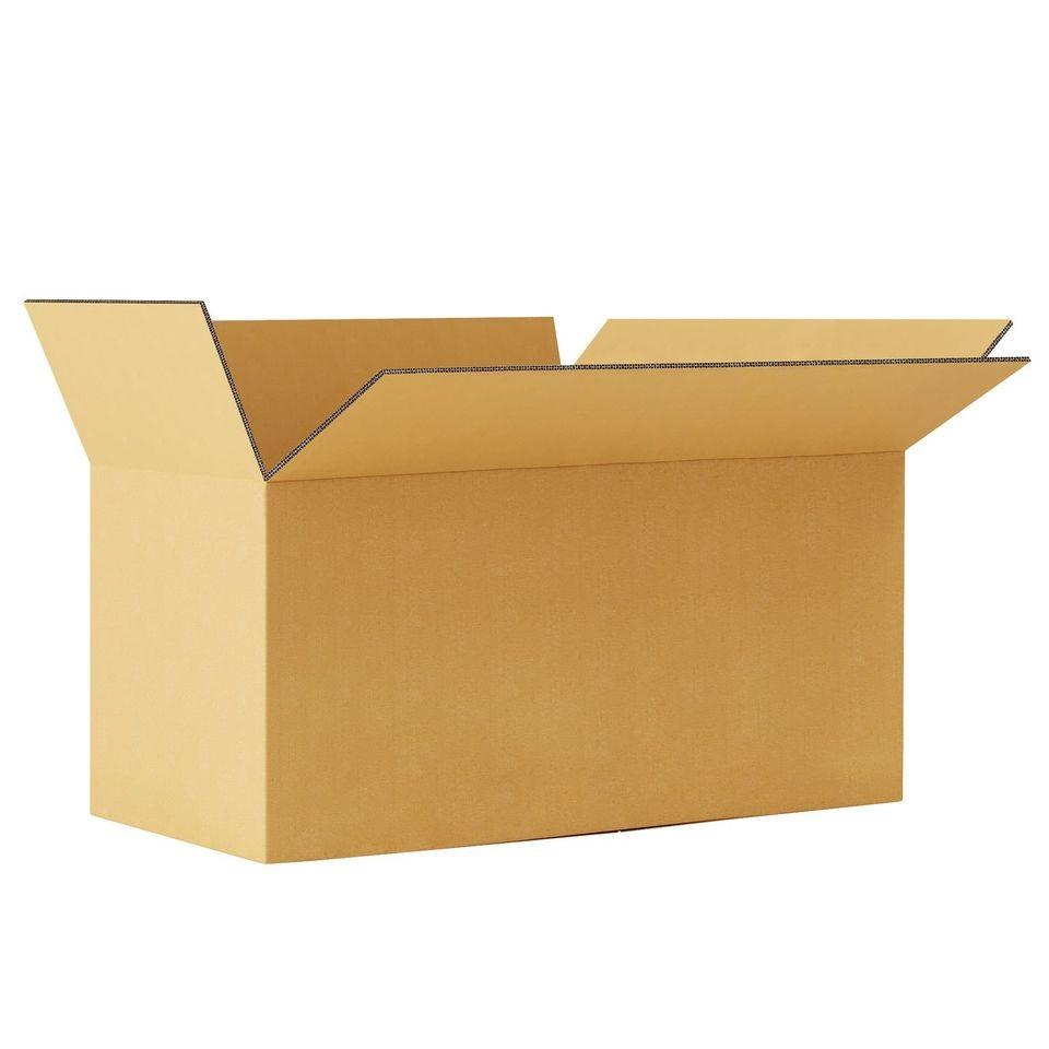 "TOTALPACK® 24 x 12 x 12"" Double Wall Corrugated ""Printed This Side Up"" Boxes 10 Units"