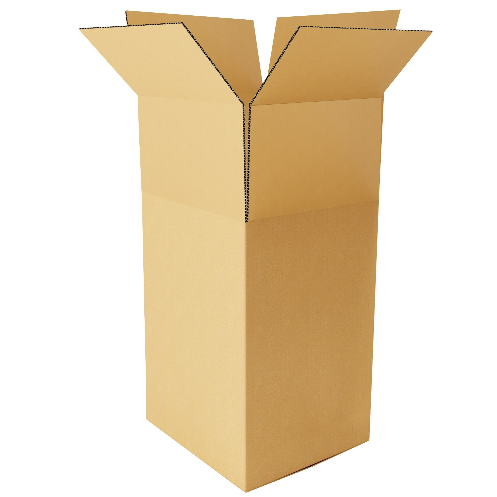 "TOTALPACK® 24 x 21 x 45 3/4"" Double Wall Corrugated Box 1 Unit"