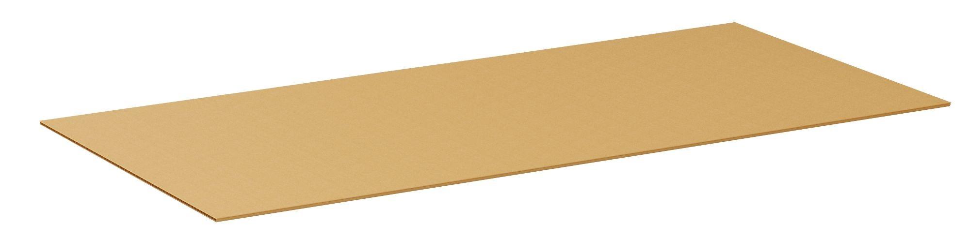 "TOTALPACK® 48 x 96"" Single Wall Corrugated Sheets 10 Units"