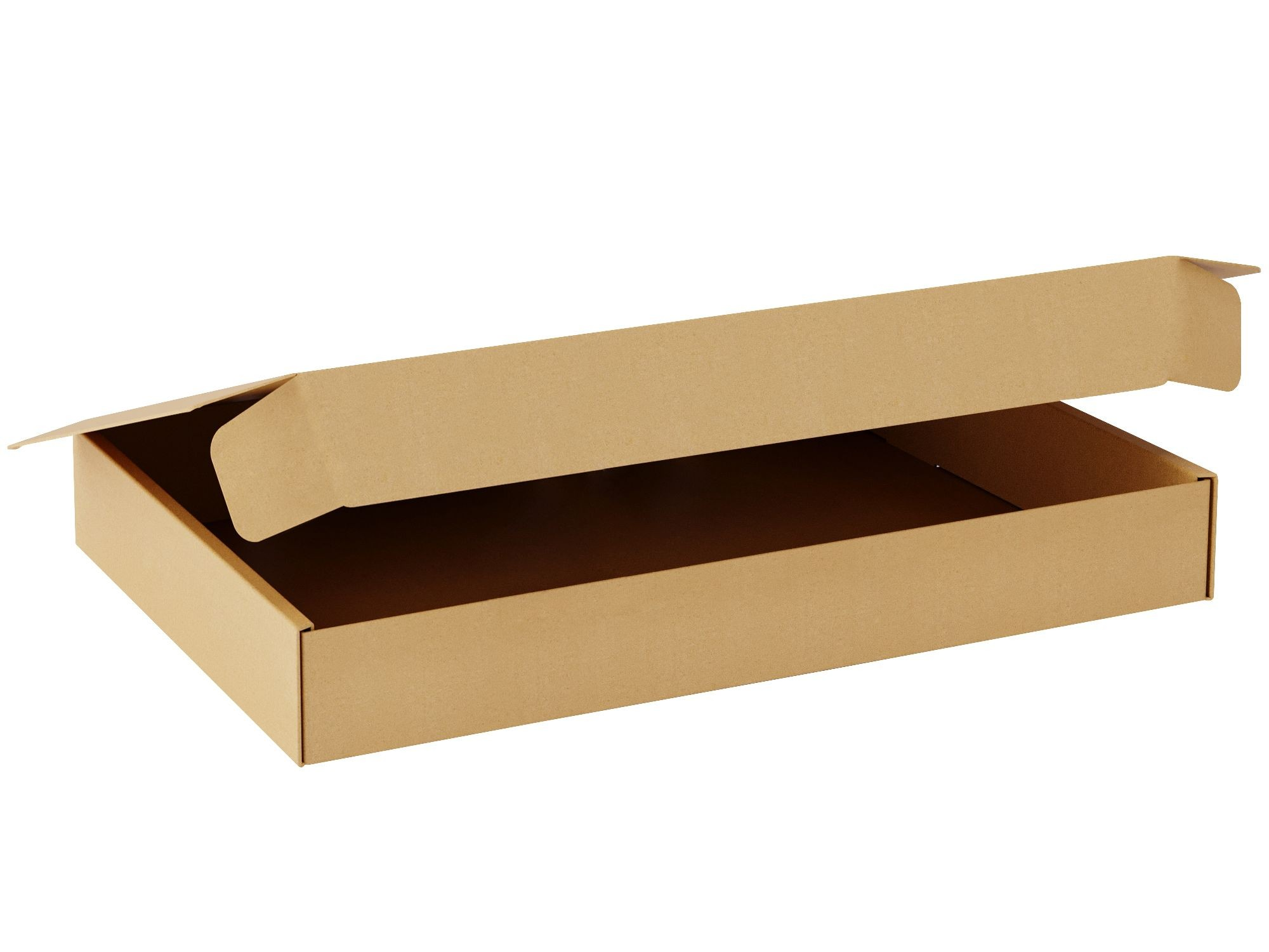"TOTALPACK® 8 x 5 1/2 x 1 1/2"" Single Wall Corrugated Boxes ""Interlock Die-Cut"" 25 Units"