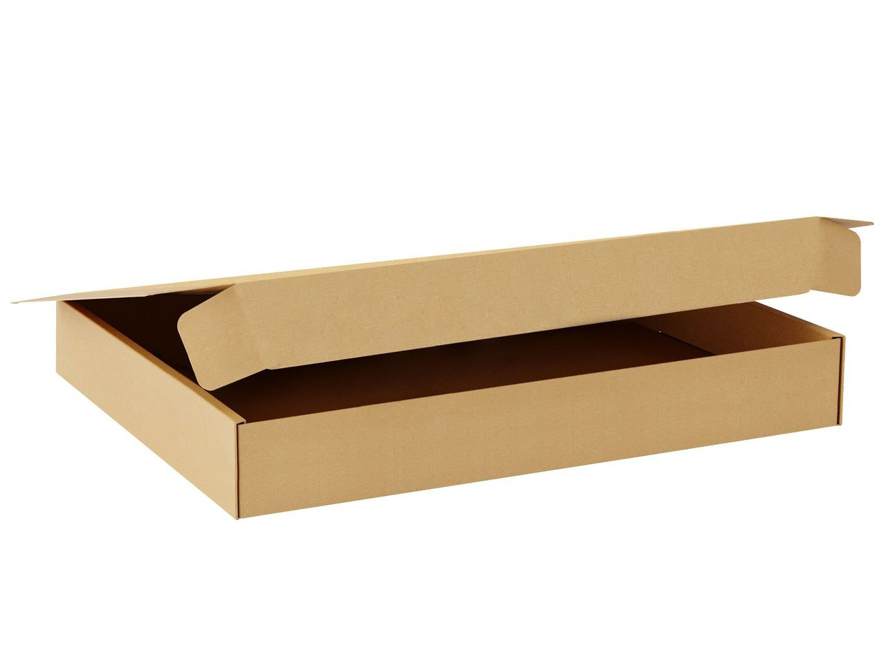 "TOTALPACK® 12 1/2 x 9 1/2 x 2 1/2"" Single Wall Corrugated Boxes ""Interlock Die-Cut"" 25 Units"