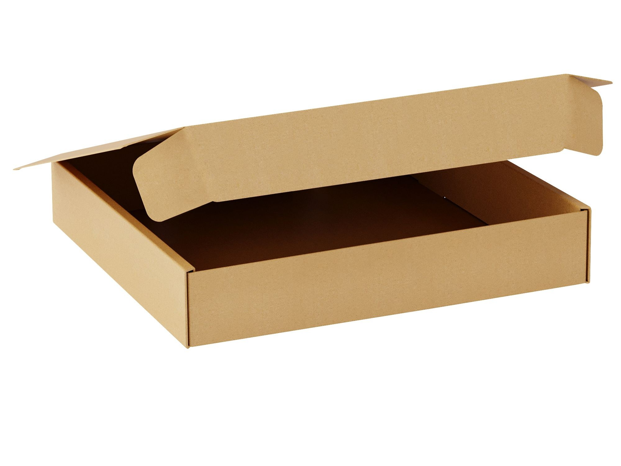 "TOTALPACK® 15 1/2 x 13 1/2 x 3"" Single Wall Corrugated Boxes ""Interlock Die-Cut"" 25 Units"