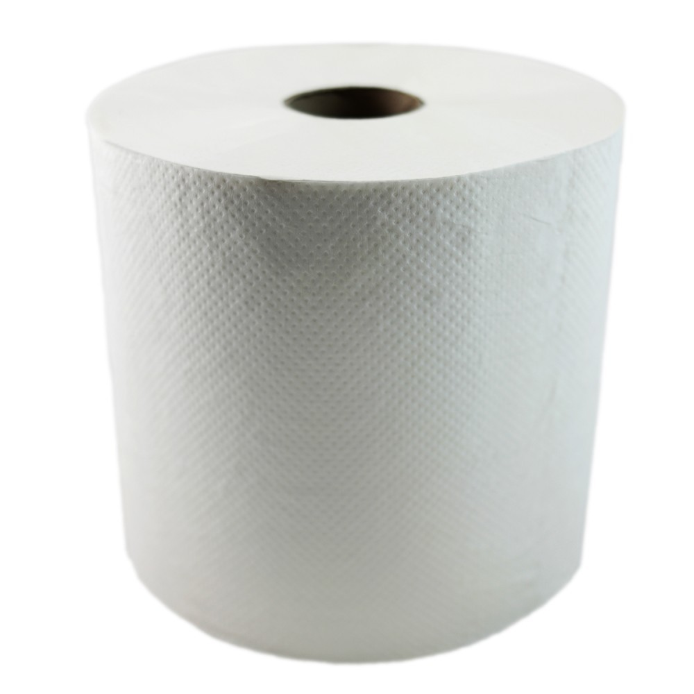 4800' Heavenly Soft® Hardwound Roll Towel White 1 Ply 800 Tears, 6 Rolls per Case