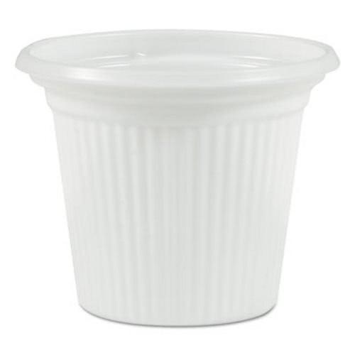 "TOTALPACK® 3/4"" Plastifar Plastic Souffle Cup ""Cuban Cups"" 5000 Units"