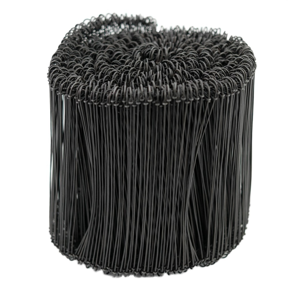 """TOTALPACK® Wire Ties 8"""" For Courier Bags 1000 Per Roll"""