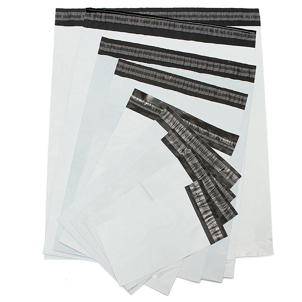 "14 1/2 x 19"" Poly Mailers with Tear Strip 500 Units"