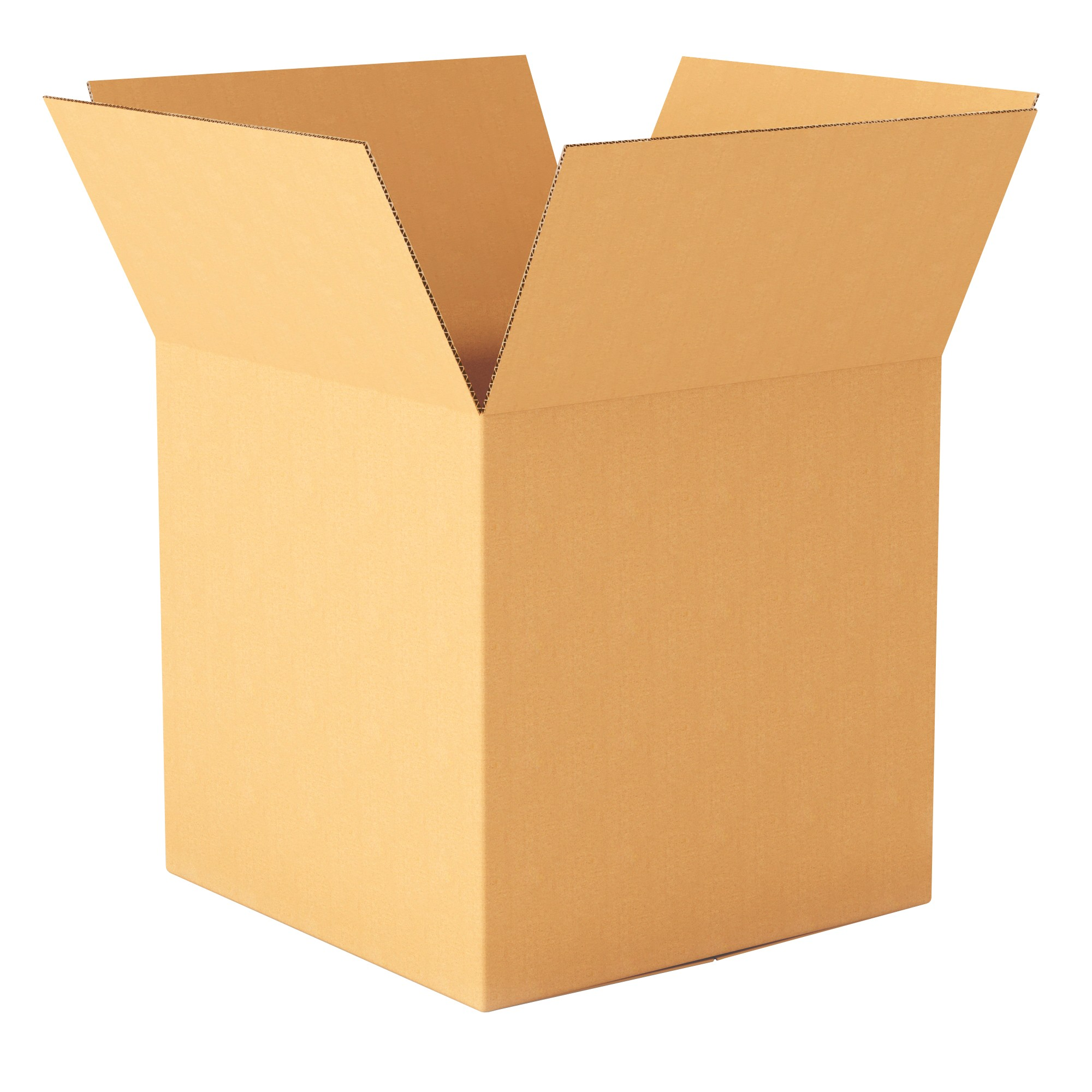 """TOTALPACK® 10 x 10 x 10"""" Single Wall Corrugated """"Printed This Side Up"""" Boxes 25 Units"""