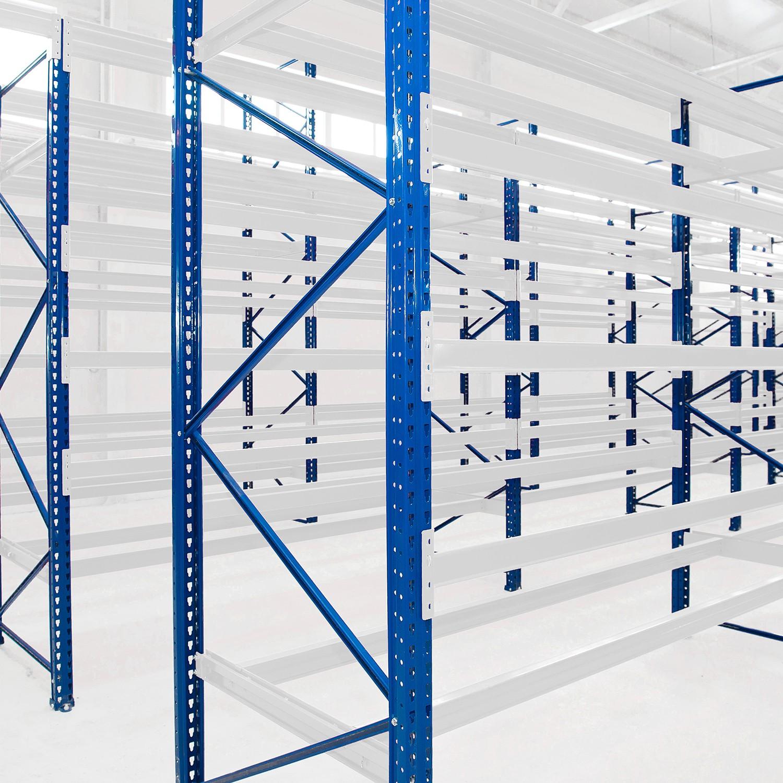 "TOTALPACK® Frames for Pallet Rack Upright 216 x 42"", 1 Unit"