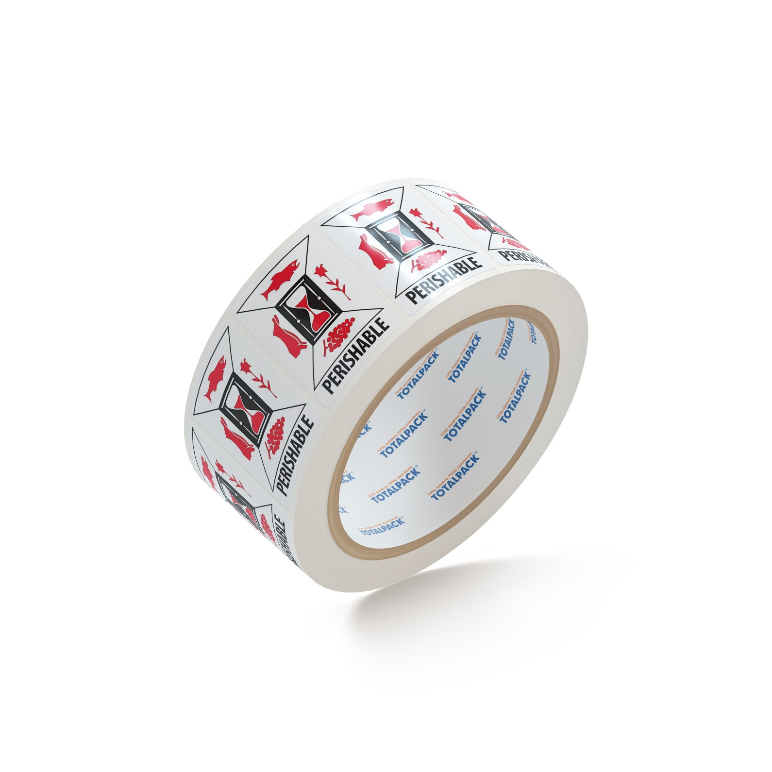 """TOTALPACK® 3 x 4"""" - """"Perishable"""" 500 Labels per Roll"""