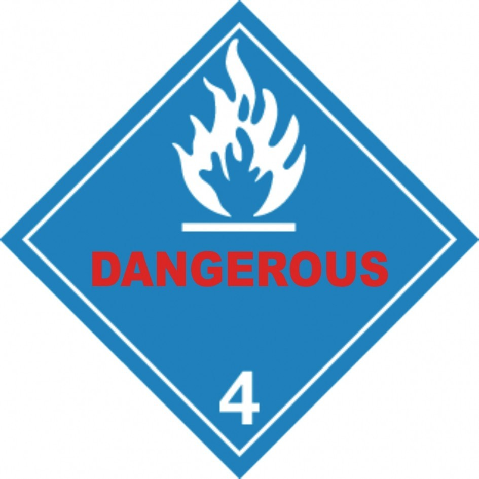 TOTALPACK® LABEL FOR TRUCK DANGEROUS-PLAC 25/PACK
