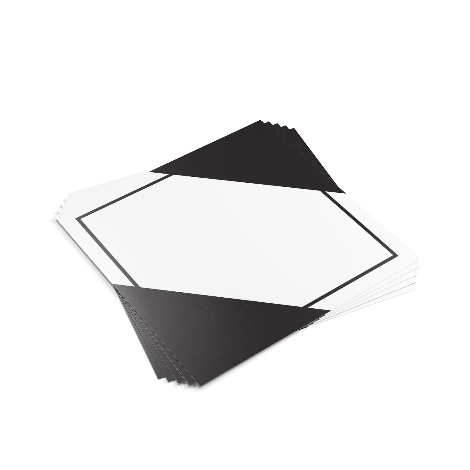 """TOTALPACK® 10 3/4 x 10 3/4"""" - Placard """"Limited Quantity Blank"""" 25 Units"""