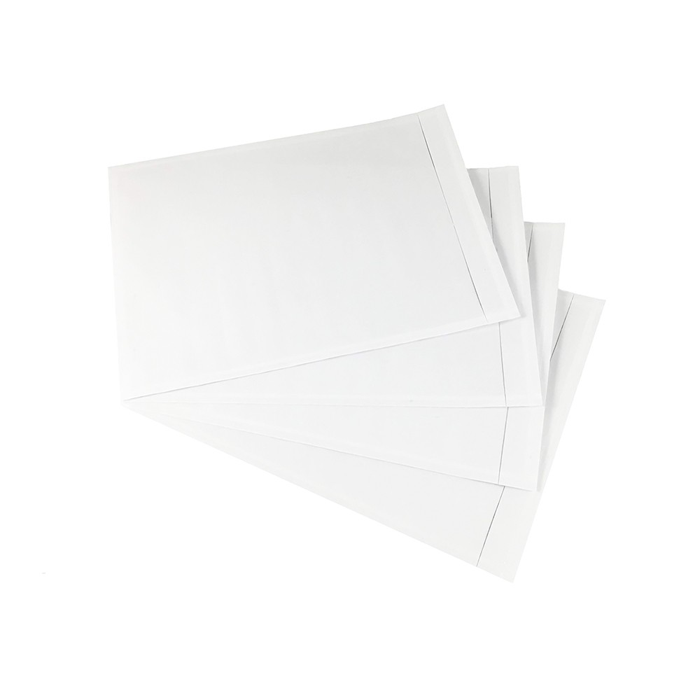"""5.5 x 10"""" """"Packing List"""" (Panel Face) Clear Envelopes 1000 Per Case"""