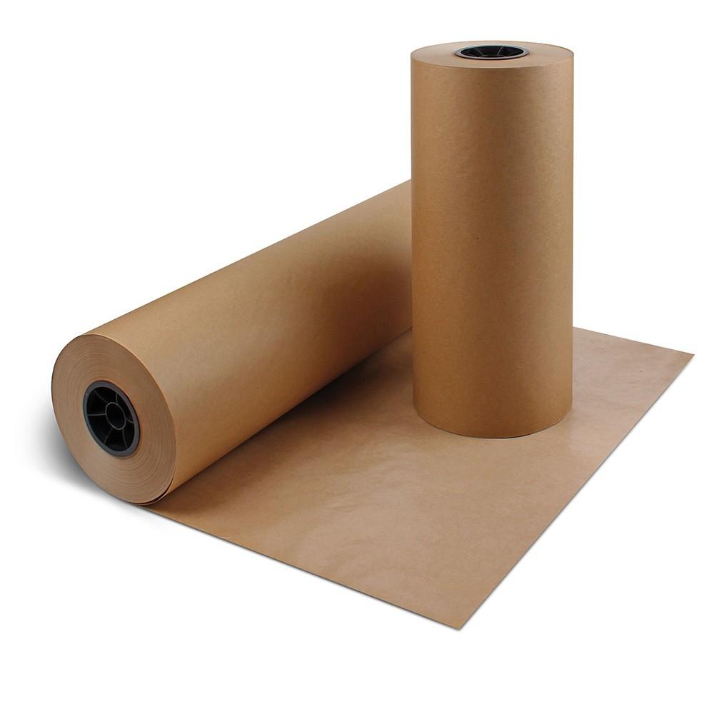 """TOTALPACK® 12"""" x 575' - 50 lb. Kraft Paper Rolls"""