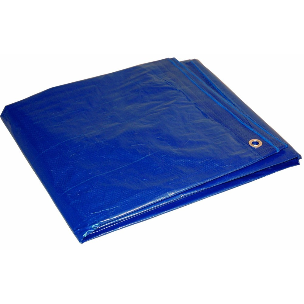 TOTALPACK® Woven Poly Tarp - Blue, 30 x 50' 1 Unit