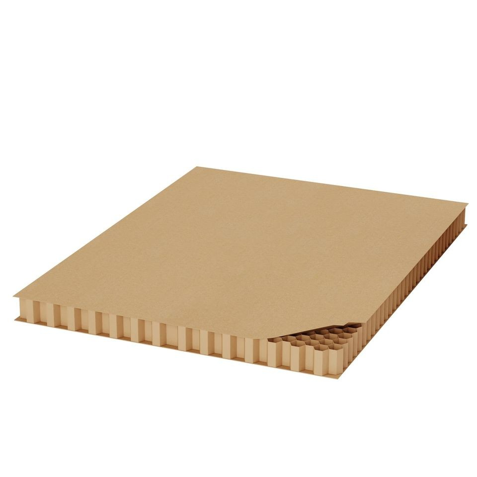 "TOTALPACK® 38 x 46 x 1/2"" Corrugated Honeycomb 96 Units"