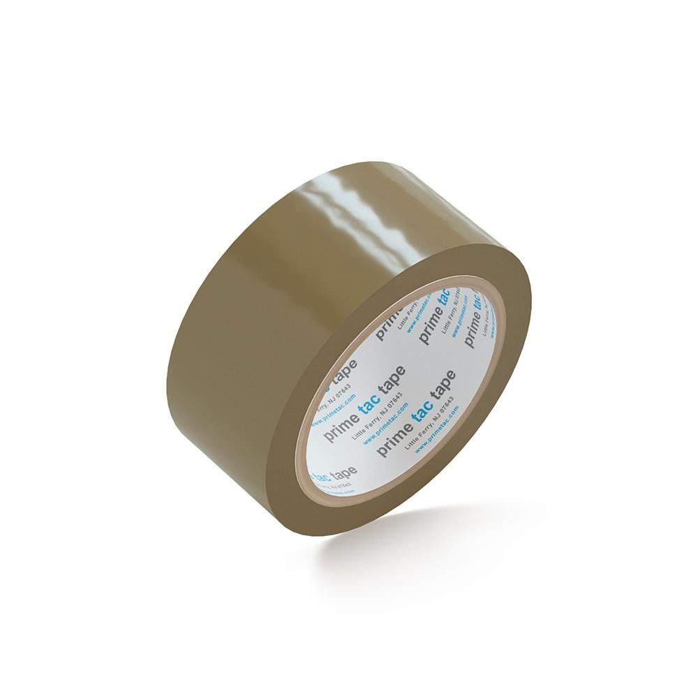 """PrimeTac® Tan Tape 2"""" x 110 Yds. 36 Rolls 1.8 Mil"""