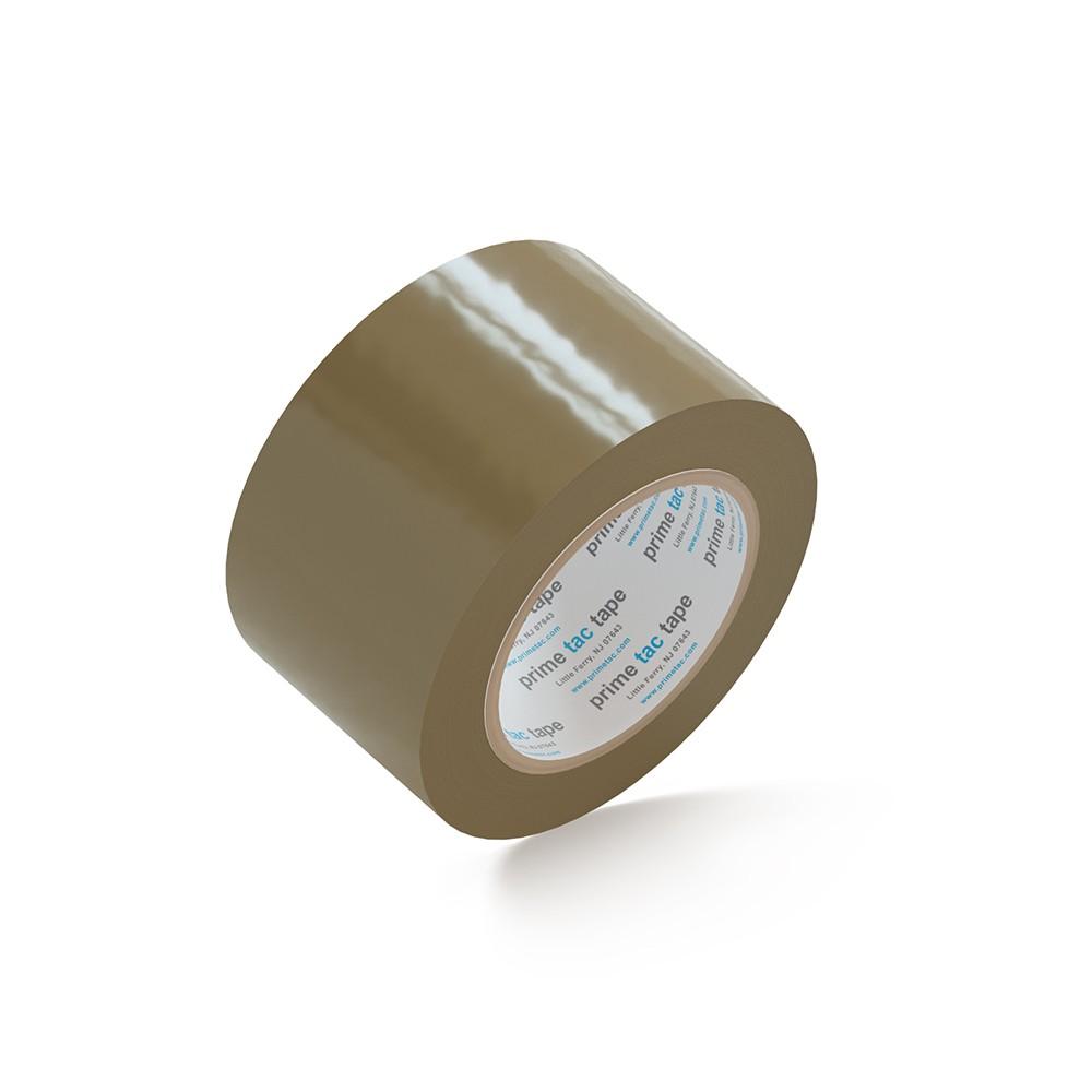 """PrimeTac® Tan Tape 3"""" x 110 Yds. 24 Rolls 1.8 Mil"""
