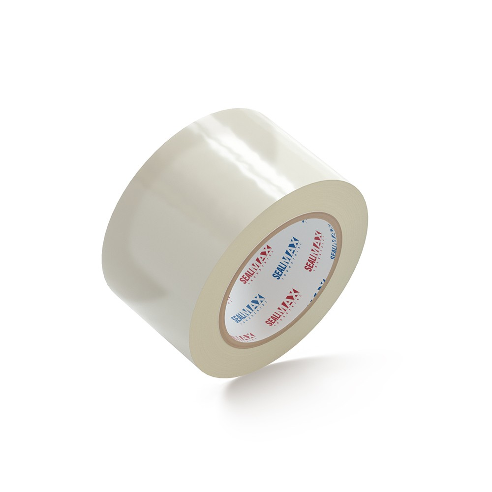 """SealMax By TOTALPACK® Tape Clear 3"""" x 110 Yds. 2.1 Mil 24 Rolls Per Case"""
