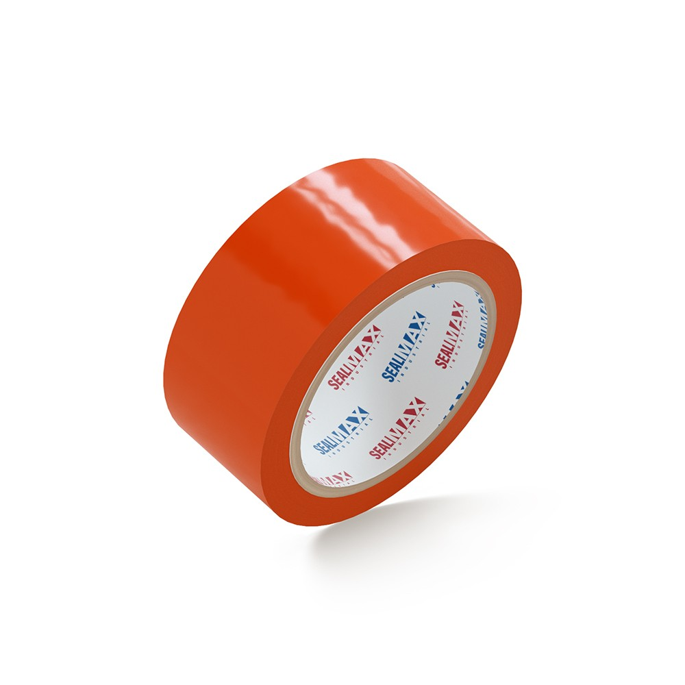 "SealMax® Orange Tape 2"" x 110 Yds. 6 Rolls 2.1 Mil"