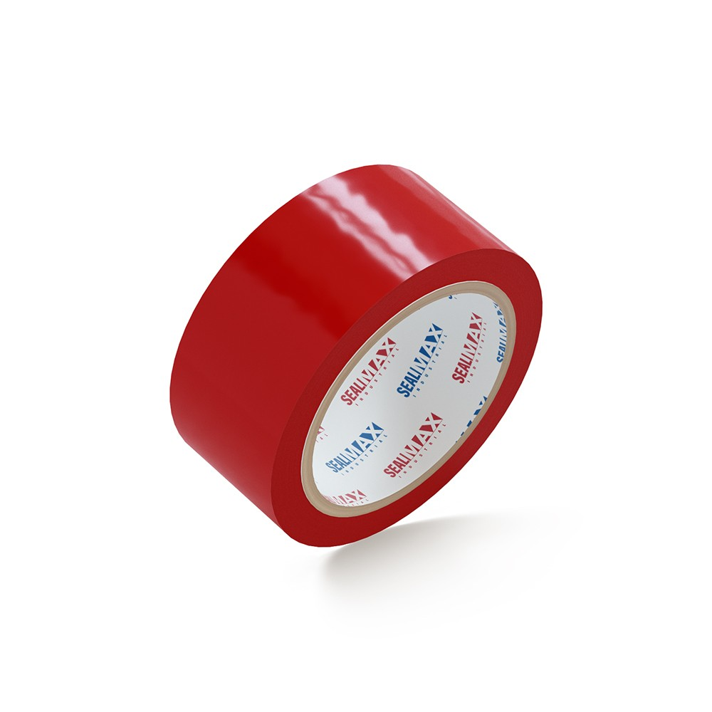 "SealMax® Red Tape 2"" x 110 Yds. 36 Rolls 2.1 Mil"