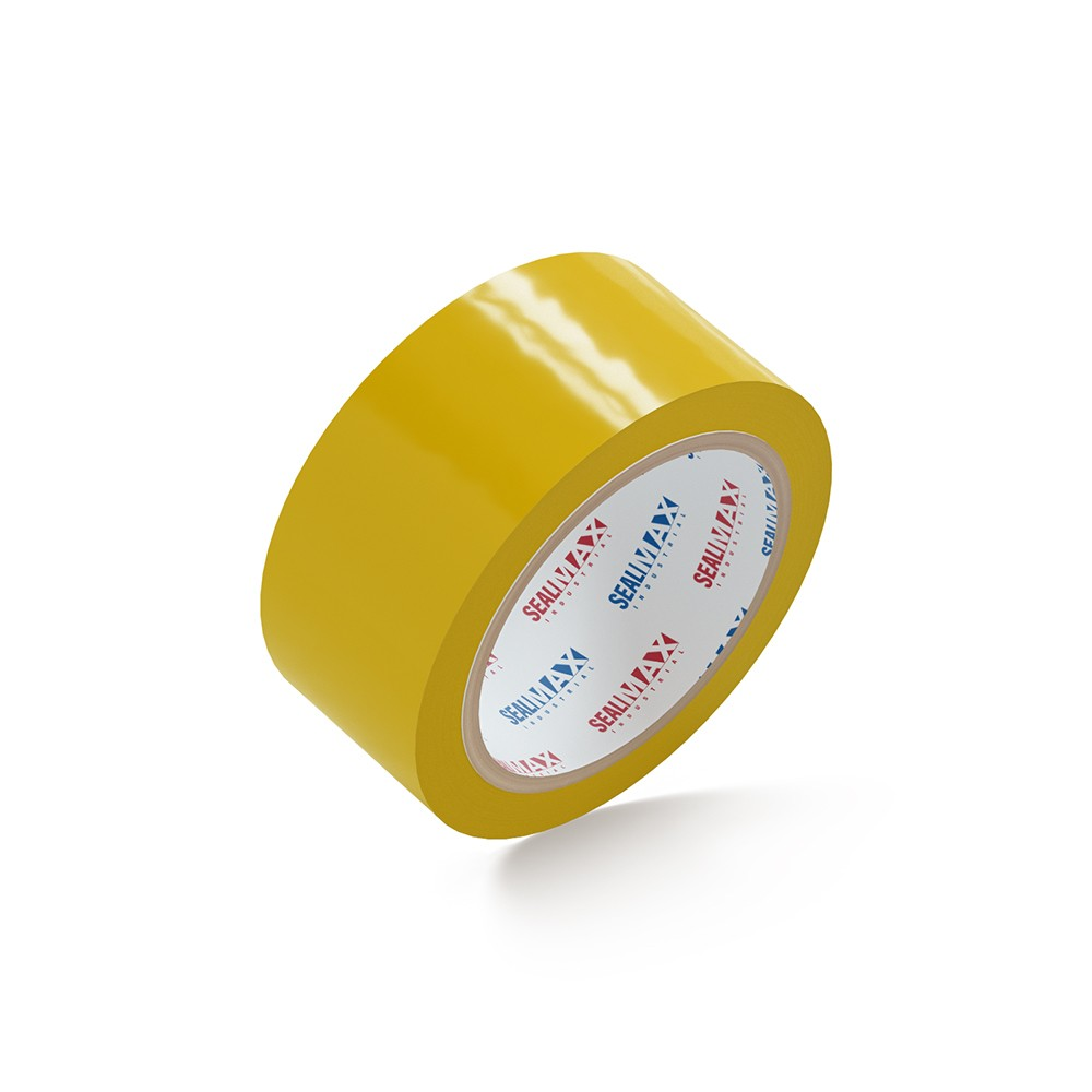 "SealMax® Yellow Tape 2"" x 110 Yds. 36 Rolls 2.1 Mil"