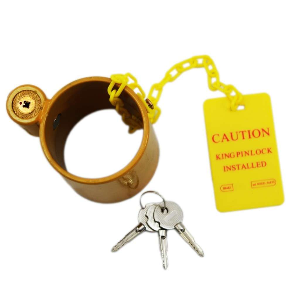 TOTALPACK® King Pin Locks For Semi Trailers Heavy Duty, 1 Unit