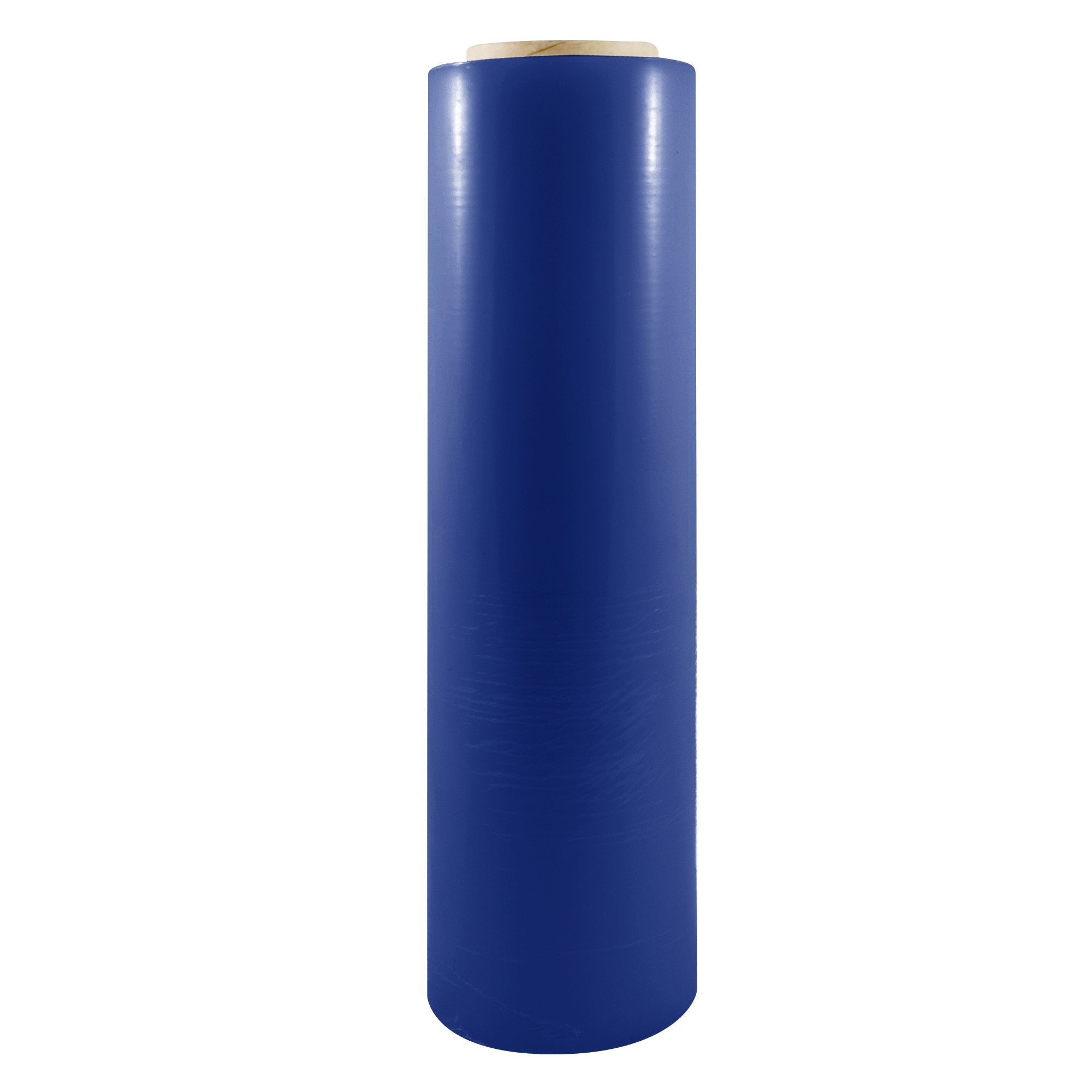 "TOTALPACK® 18"" x 1000' 85 Gauge, 4 Rolls. Gauge Blown Stretch Blue Film"
