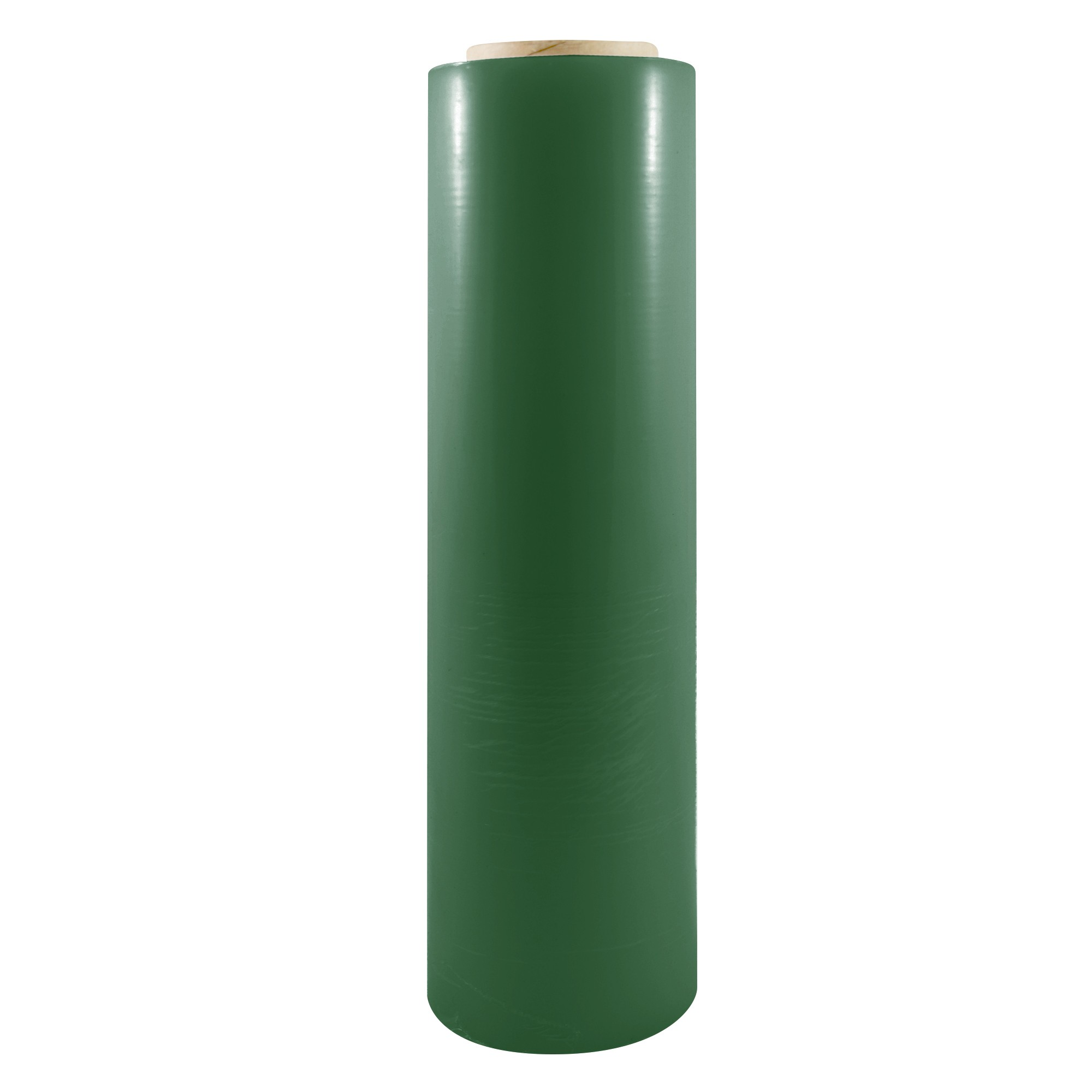 "TOTALPACK® 18"" x 1000' 85 Gauge, 4 Rolls. Gauge Blown Stretch Green Film"
