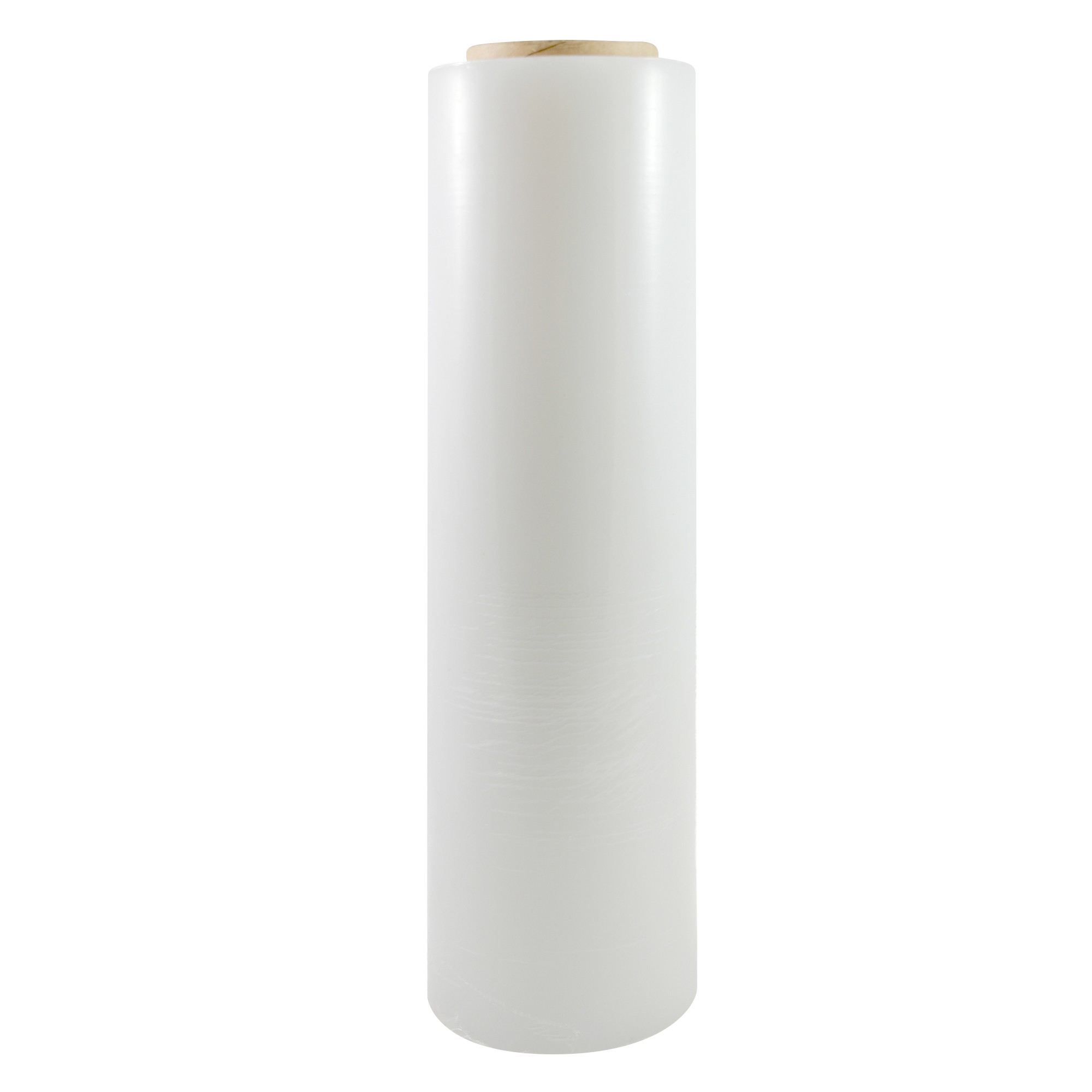 "TOTALPACK® 18"" x 1000' 85 Gauge, 4 Rolls. Gauge Blown Stretch White Film"
