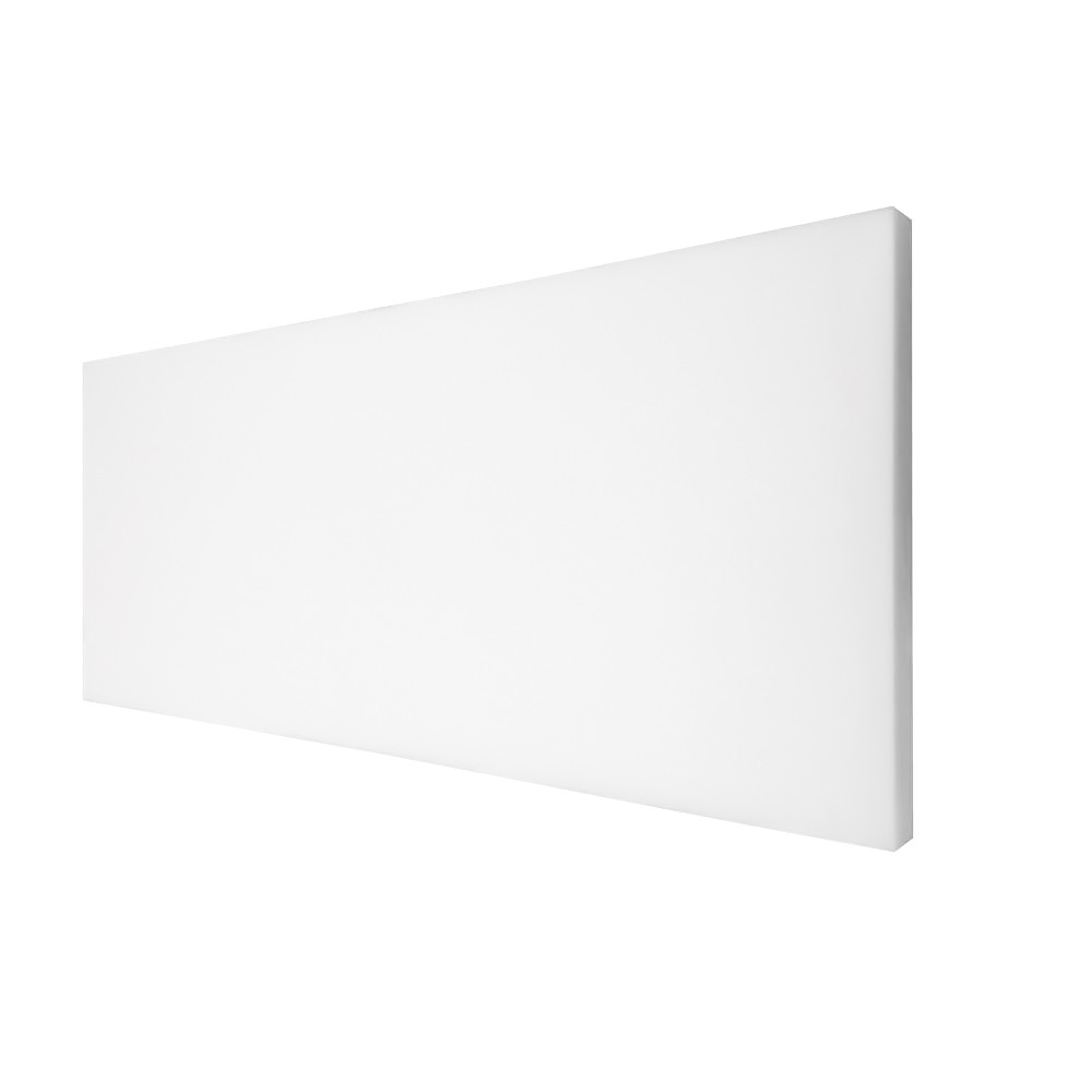 "TOTALPACK® 48 x 96 x 1/2"" Plank Foam without Adhesive - Non-perforated, White 10 Units"