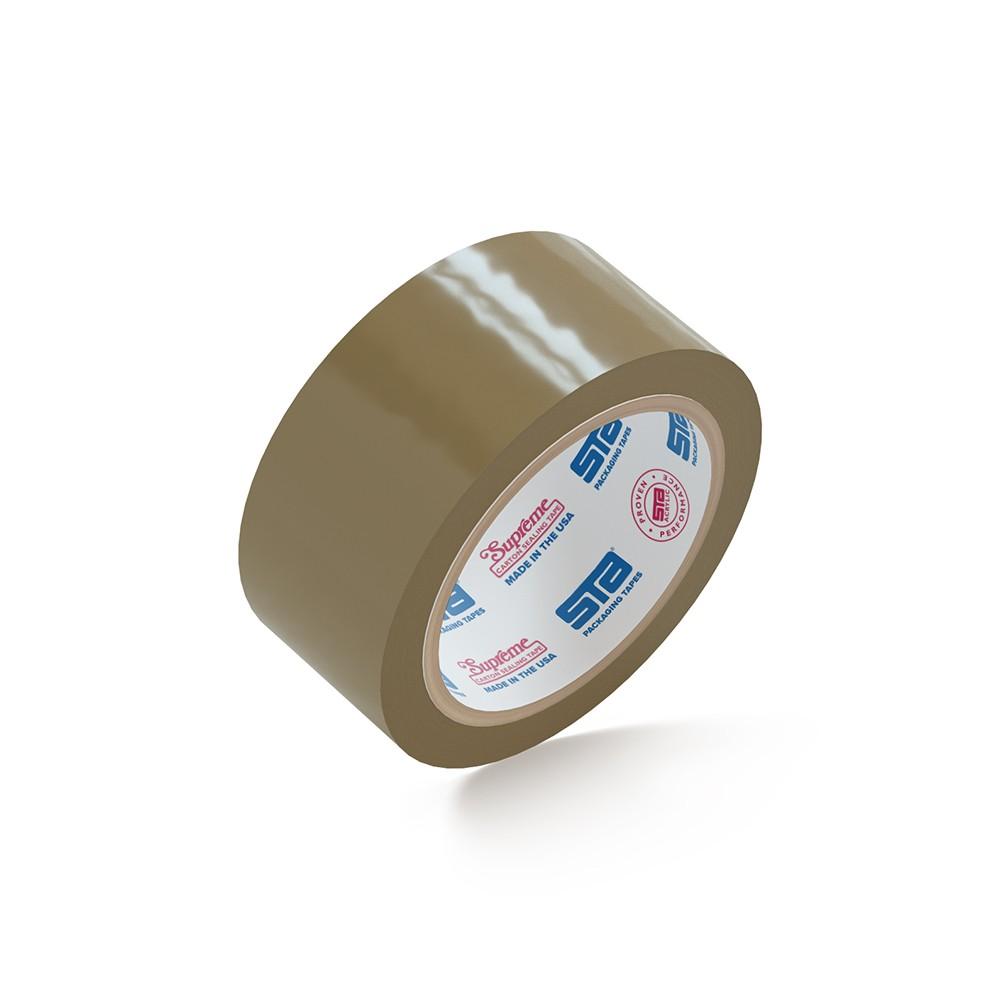 "Supreme® 1180 Tan Tape 2"" x110 Yds. 36 Rolls 1.8 Mil"