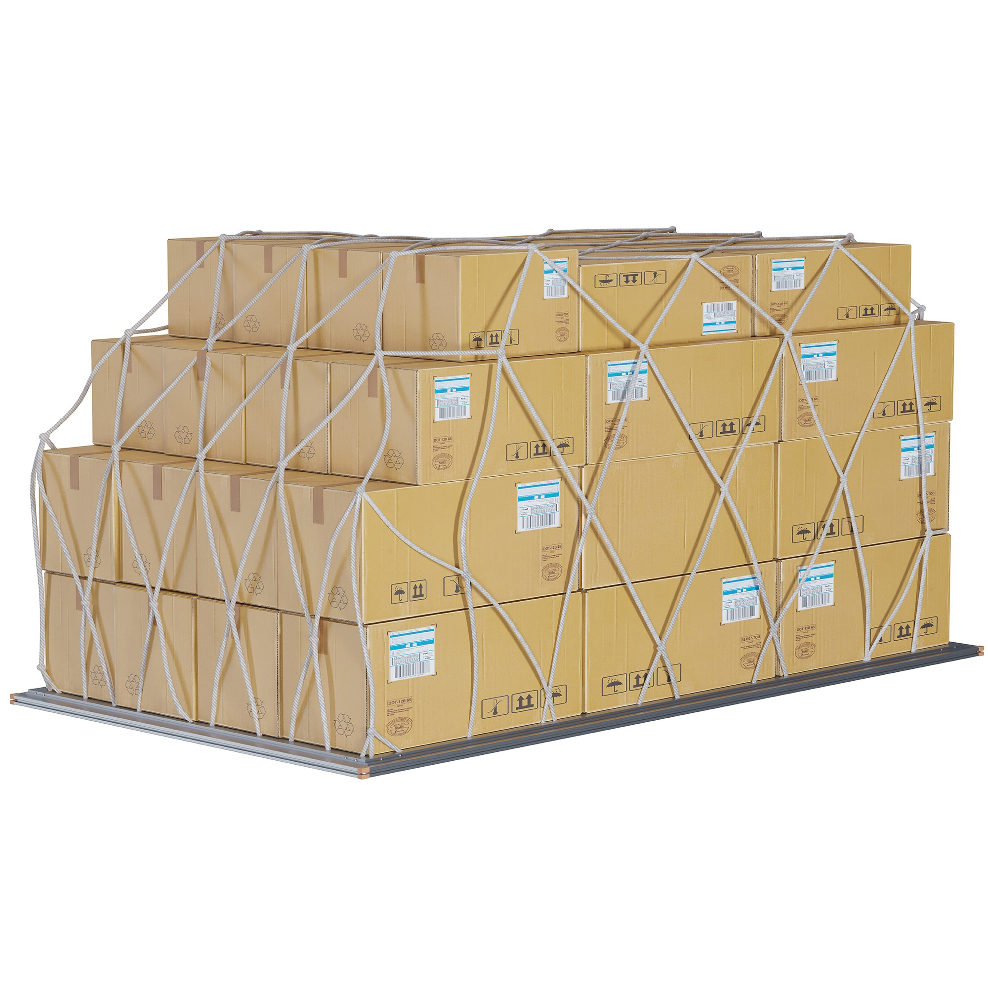 "TOTALPACK® 60.4 x 125 x 64"" Air Cargo Net 1 Unit"