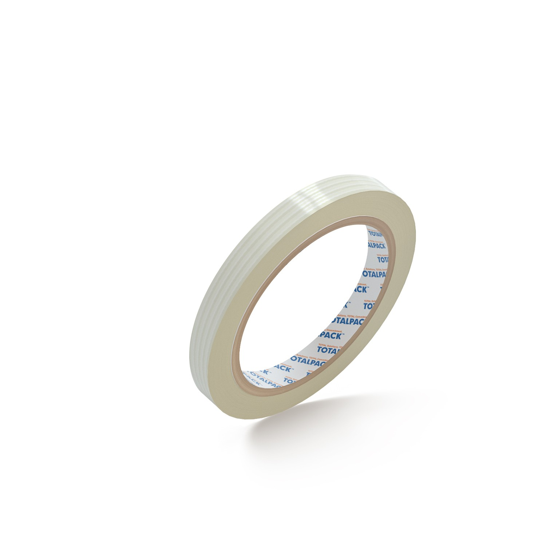"TOTALPACK® Filament Tape 1/2"" x 60 Yds. 4 Mil 72 Rolls Per Case"