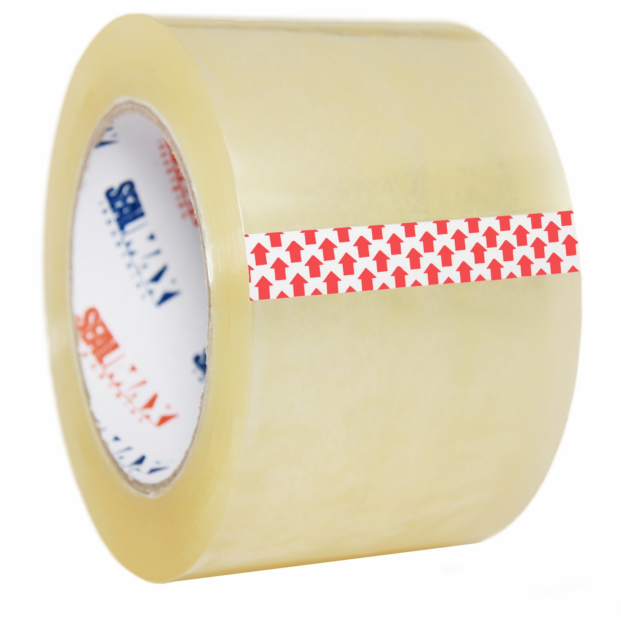 "SealMax By TOTALPACK® Tape Clear 3"" x 110 Yds. 2.1 Mil 1 Unit"