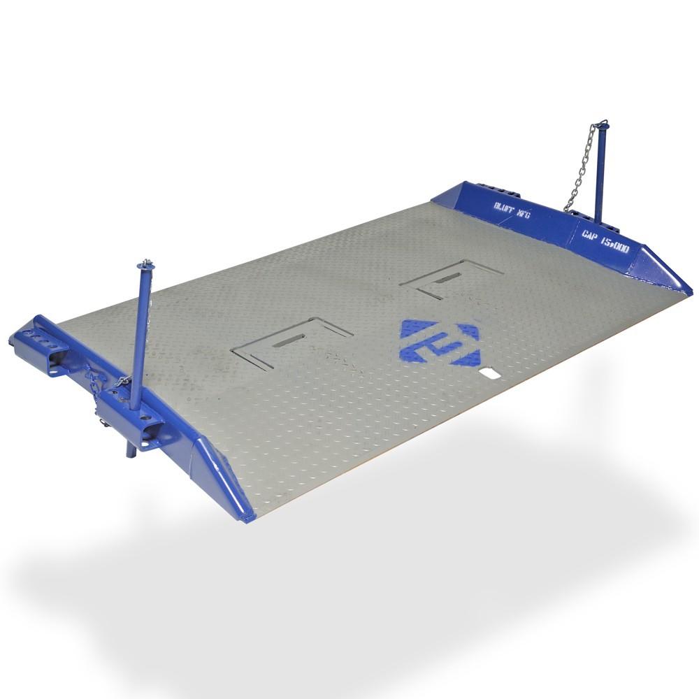 "BLUFF® 48 x 60"" Steel Truck Dock Board with Steel Curbs, 15000 lb Capacity 1 Unit"