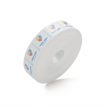 Custom Packing Tape By TOTALPACK - White 72 mm x 500 ft. 235 Grade, 6 Rolls Per Case
