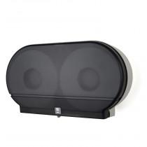 Twin Jumbo Tissue Dispenser Smoke Black