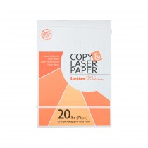 TOTALPACK® 92 Bright Multipurpose Letter Copy Paper - 8.5 x 11 Inches (5000 Sheets)